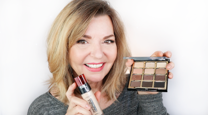 Drugstore Makeup Mature Woman