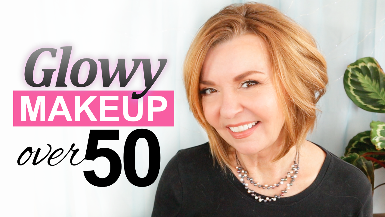 Glowy Makeup Look for Mature Skin  Tutorial Over 10 – Pretty Over