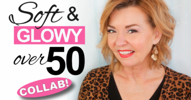 soft glowy makeup over 50