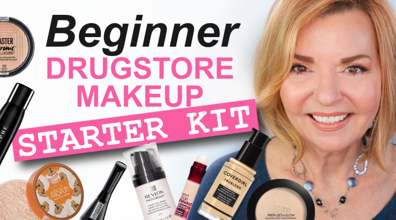 beginner drugstore makeup starter kit