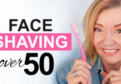 face shaving over 50