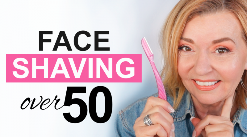 face shaving over 50