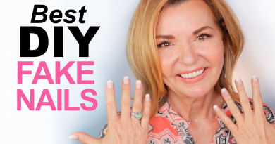 diy fake nails over 50
