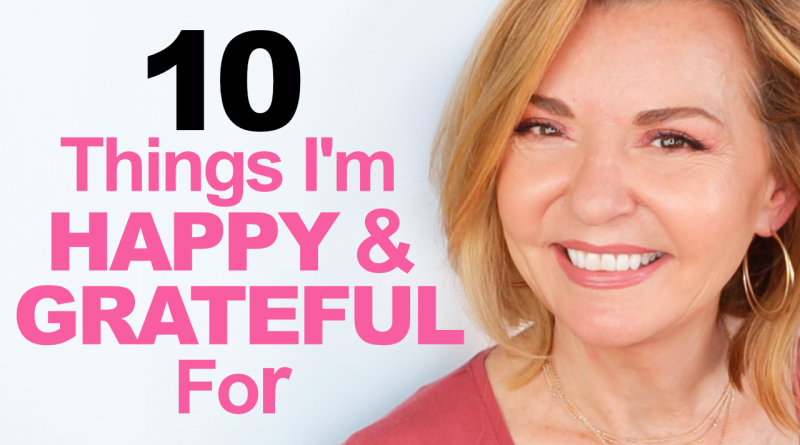 happy and grateful over 50