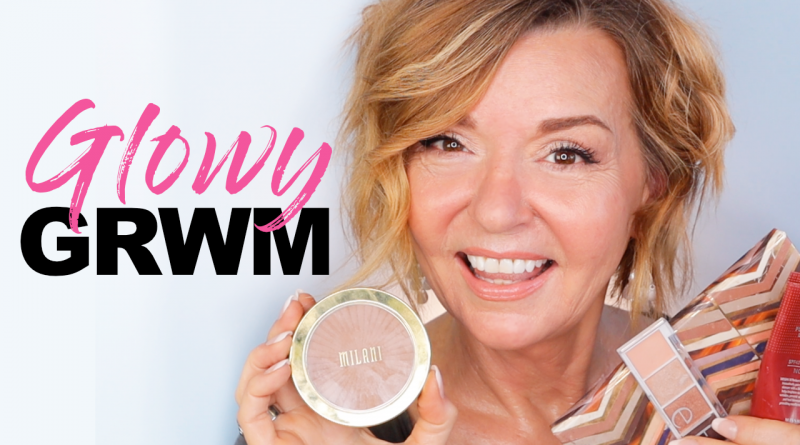 glowing makeup over 50