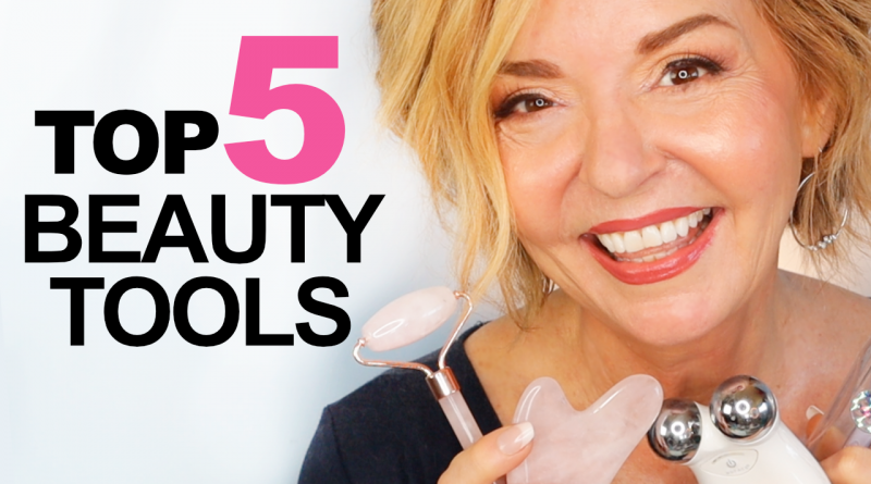 top 5 beauty tools over 50