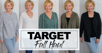 Target Fall Try On Haul Over 50