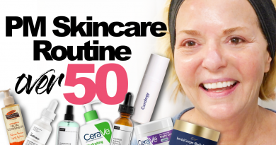 PM Skincare Routine Over 50