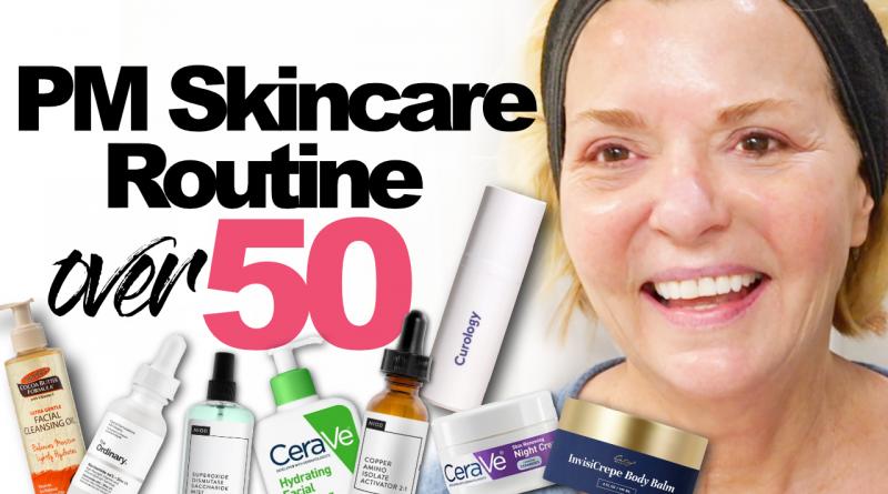 PM Skincare Routine Over 50