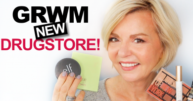 GRWM – All NEW Drugstore Makeup Over 60