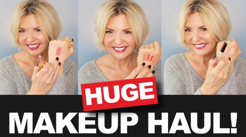 HUGE Makeup Haul Over 50