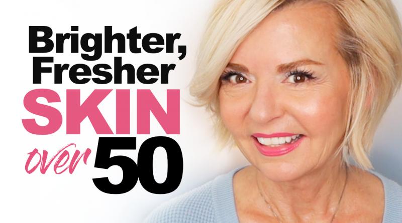 Brighter, Fresher Skin Over 50