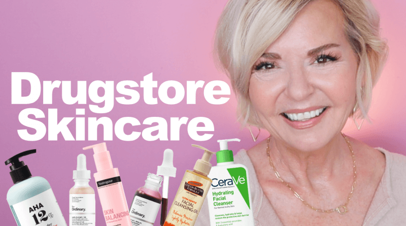 Favorite Drugstore Skincare Over 50