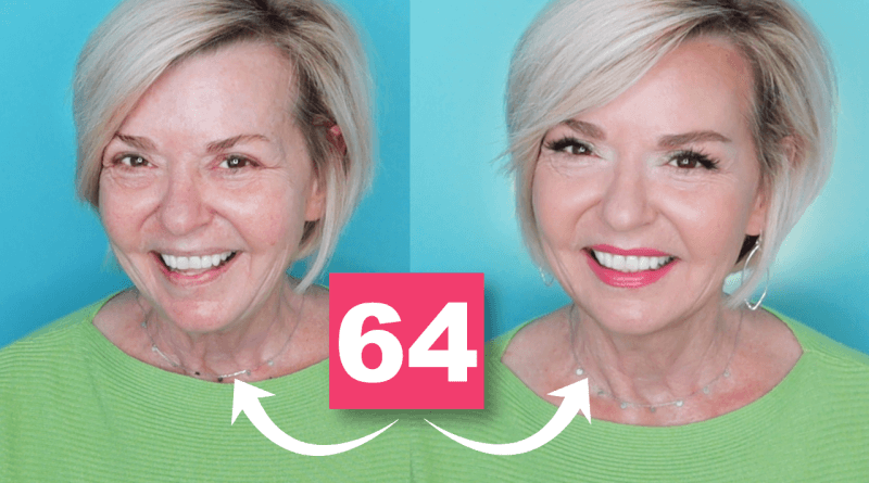 GRWM Over 50 – Colorful New Makeup